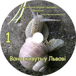Диск 'Вони живуть у Львові'. Приклад оформлення диску №1